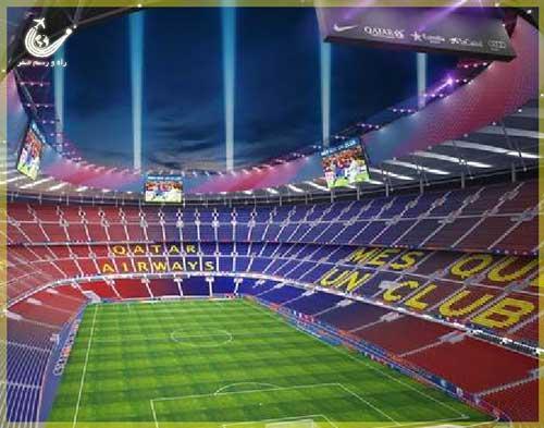 ورزشگاه-نیوکمپ-بارسلونا
