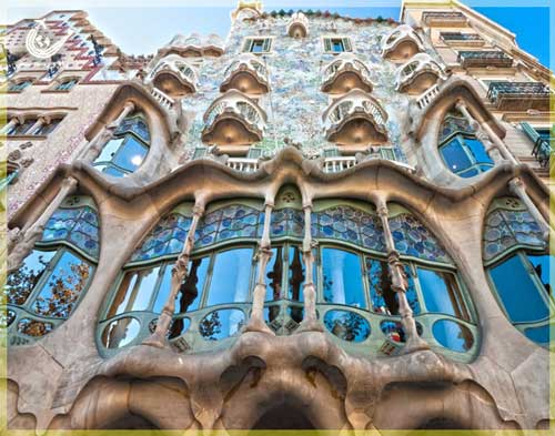 ساختمان-کازاباتیو-بارسلونا-اسپانیا