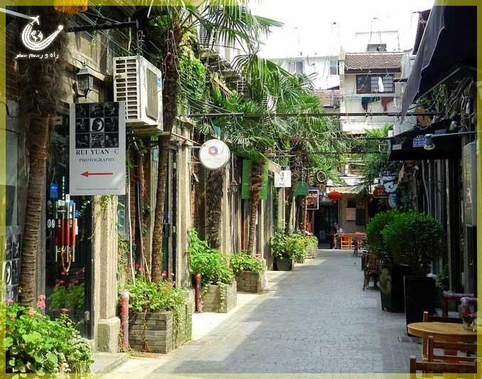 محله-فرانسوی-تیانزیفانگ -شانگهای